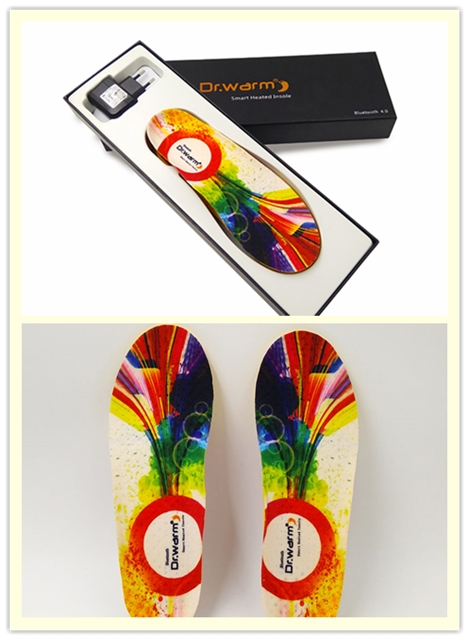 Dr. Warm Bluetooth Control Insoles S2-6