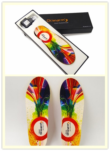 heat moldable insoles hunting warmer foot Dr. Warm Brand company