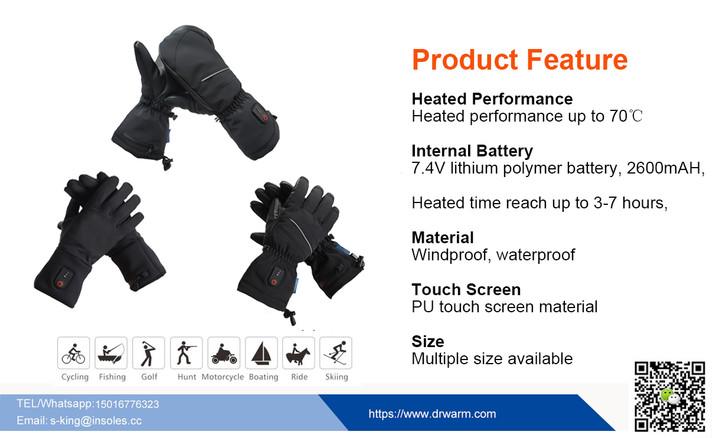 Dr.warm Heated Gloves Waterproof Test