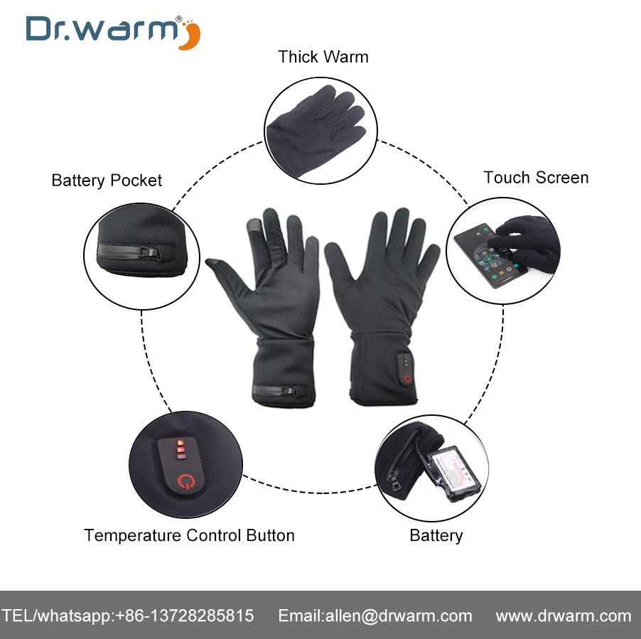 Dr.warm Heated Gloves Current Test