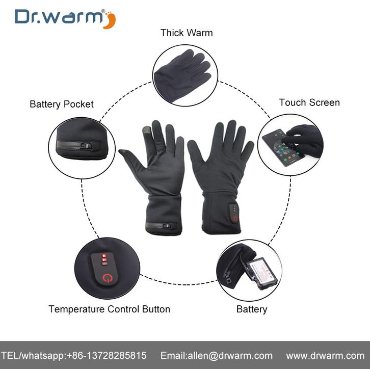 Dr.warm Heated Gloves Current Test