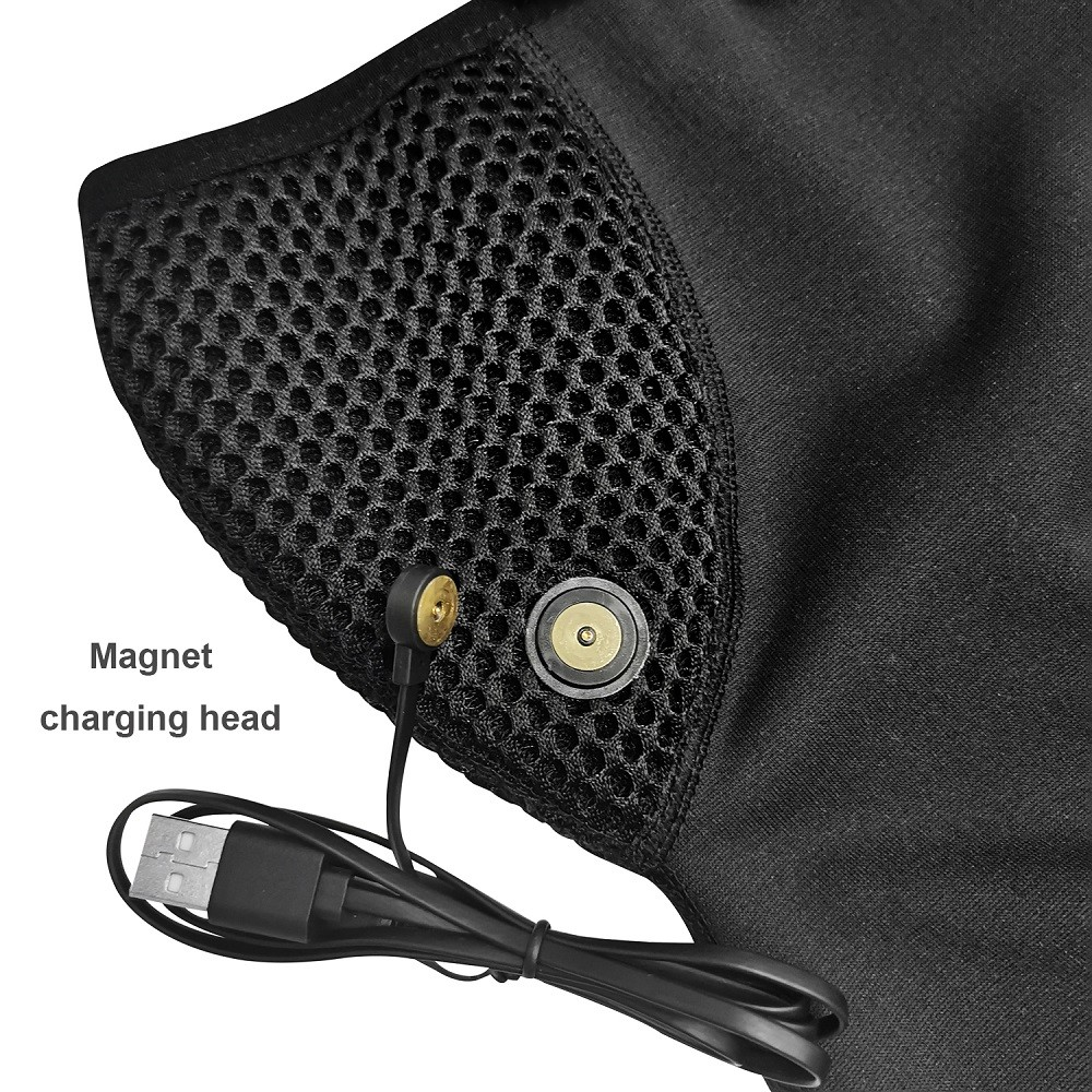 Heated Headgear Scarf Outdoor Windproof Thick Warm Riding Mask