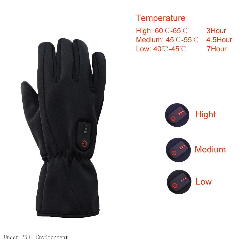 Dr. Warm gloves heated winter gloves for outdoor-10