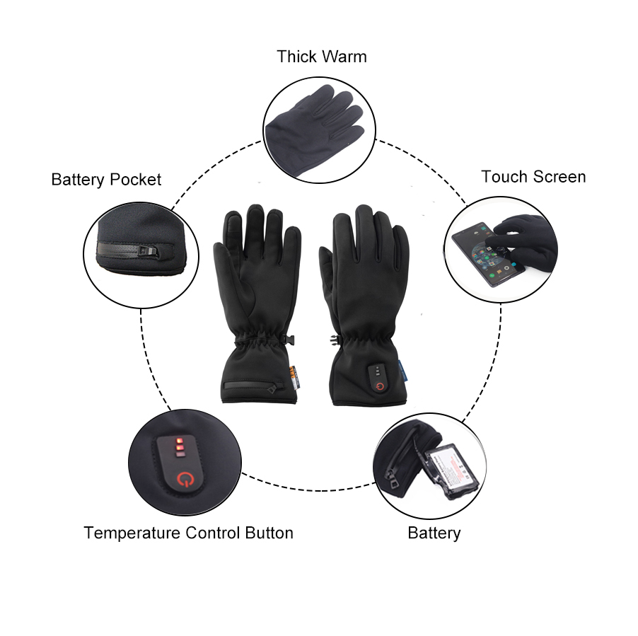Dr. Warm warm heated gloves canada improves blood circulation for home-9