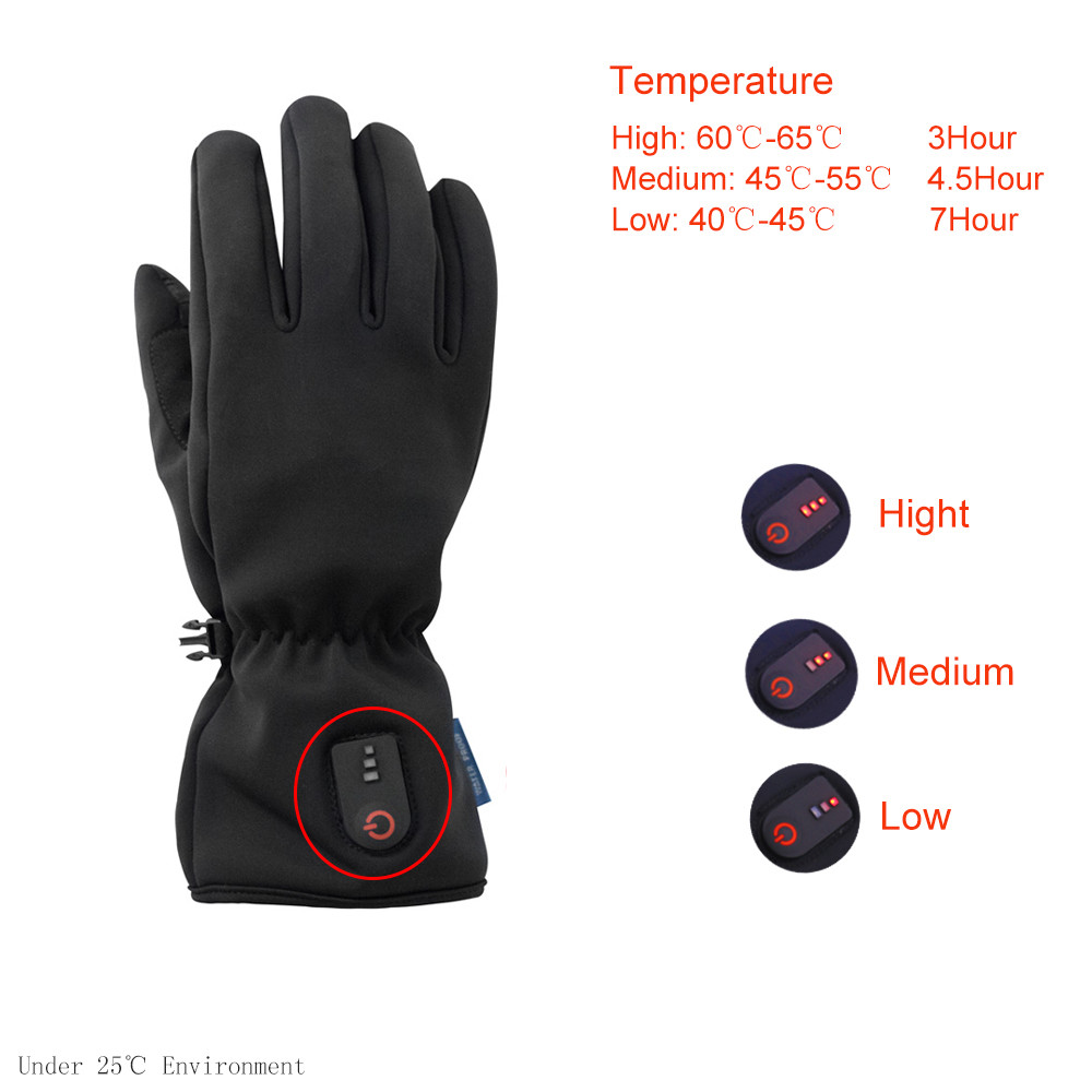Dr. Warm gloves battery gloves for home