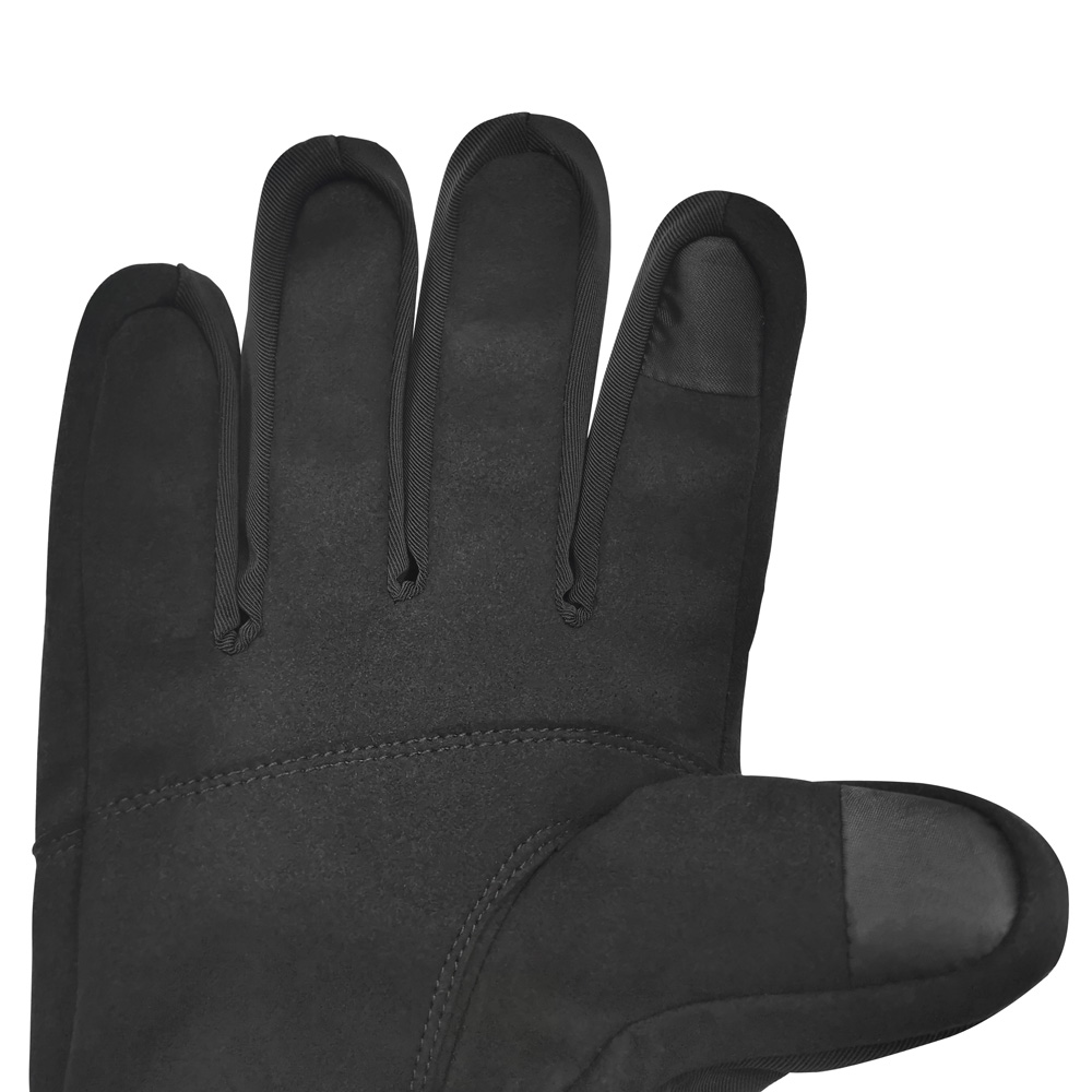 Dr. Warm men heated winter gloves with prined pattern for indoor use-3
