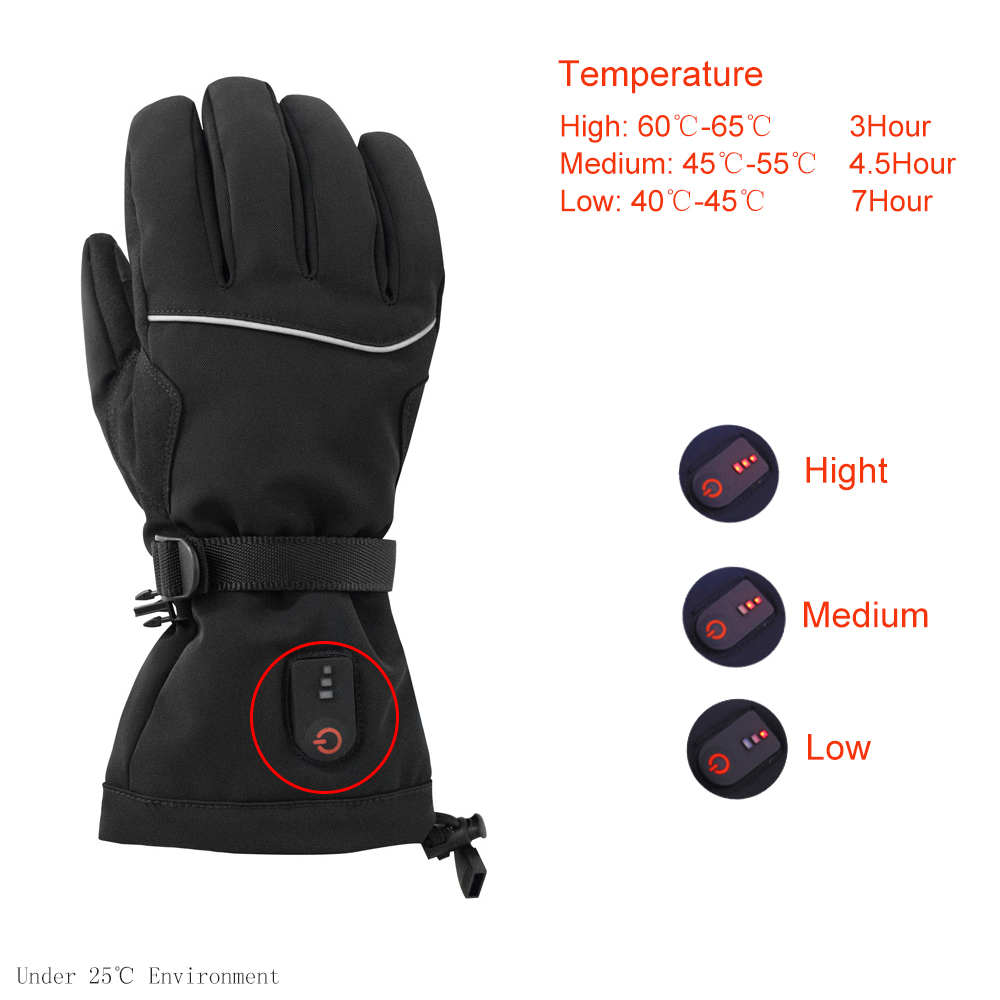 Dr. Warm sensitive electric hand warmer gloves improves blood circulation for indoor use-7