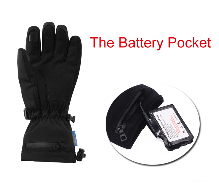 Dr. Warm sensitive electric hand warmer gloves improves blood circulation for indoor use-8