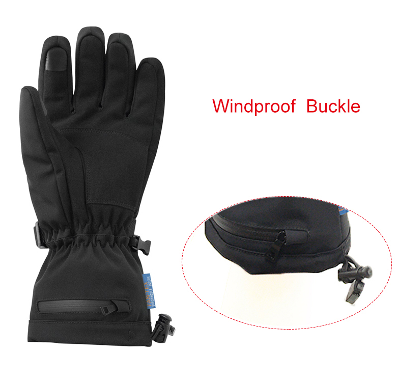 Dr. Warm sensitive electric hand warmer gloves improves blood circulation for indoor use-10