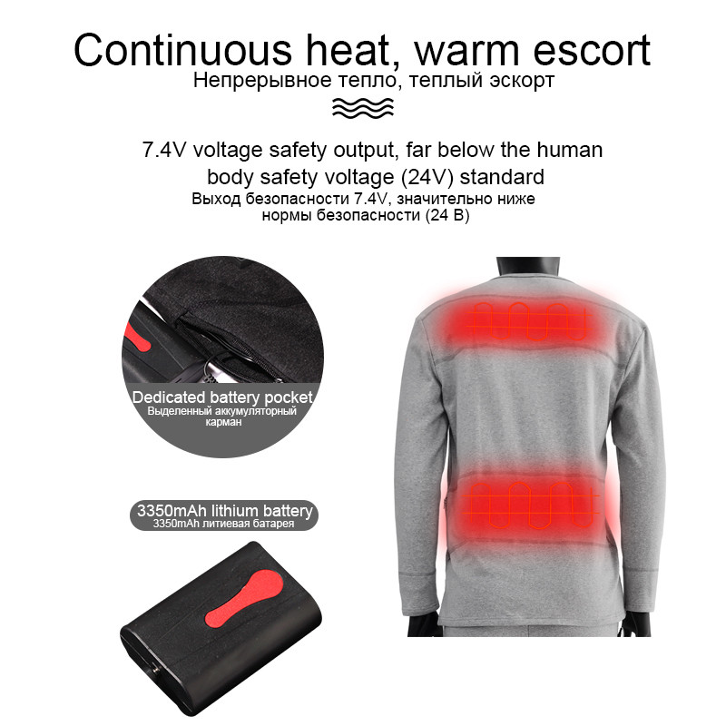 Dr. Warm warm battery operated thermal underwear on sale for winter