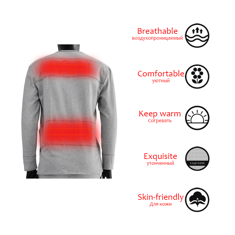 Dr. Warm warm battery operated thermal underwear on sale for winter-12