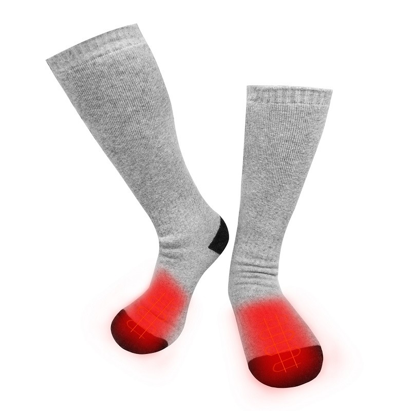 cotton battery heated socks heating keep you warm all day for winter
