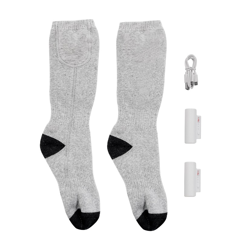 cotton battery heated socks heating keep you warm all day for winter-6