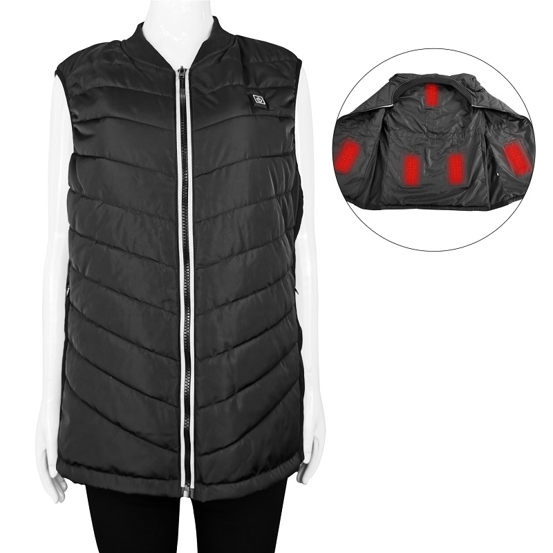 healthy electric vest warmer fishing with prined pattern for indoor use-3