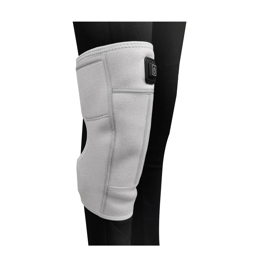 Electric Heated Knee Brace, Wrap Support Heating Pad Arthritis Pain Knee Massager Heating Knee Brace