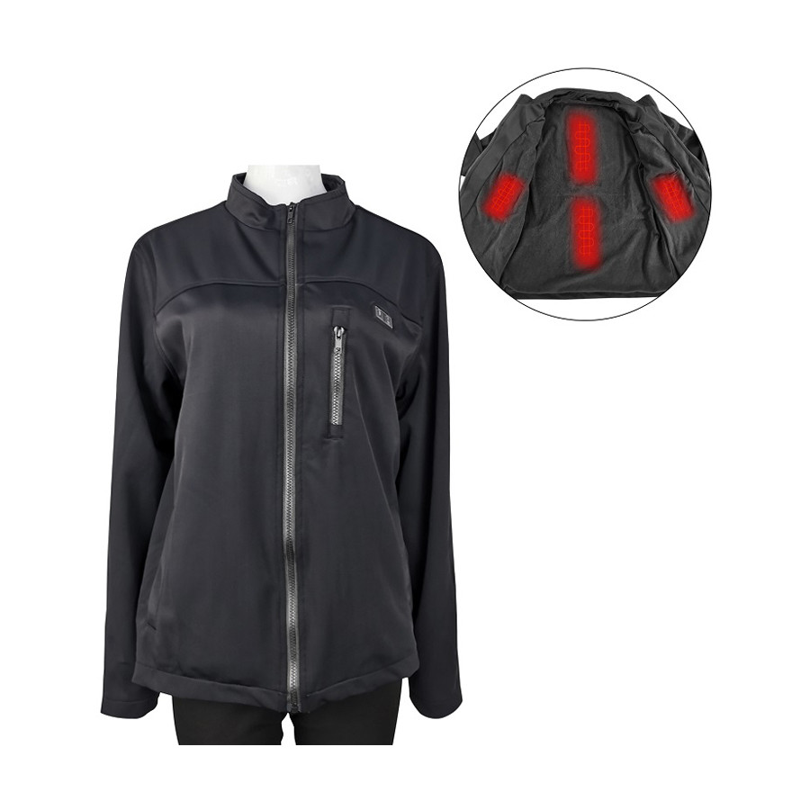 Winter custom usb battery bluetooth safety ski hunting 5v heated coats and warm clothing heated jacket