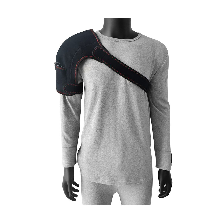 Heated Shoulder Brace Hotselling Health Care Stability Back Posture Corrector Support