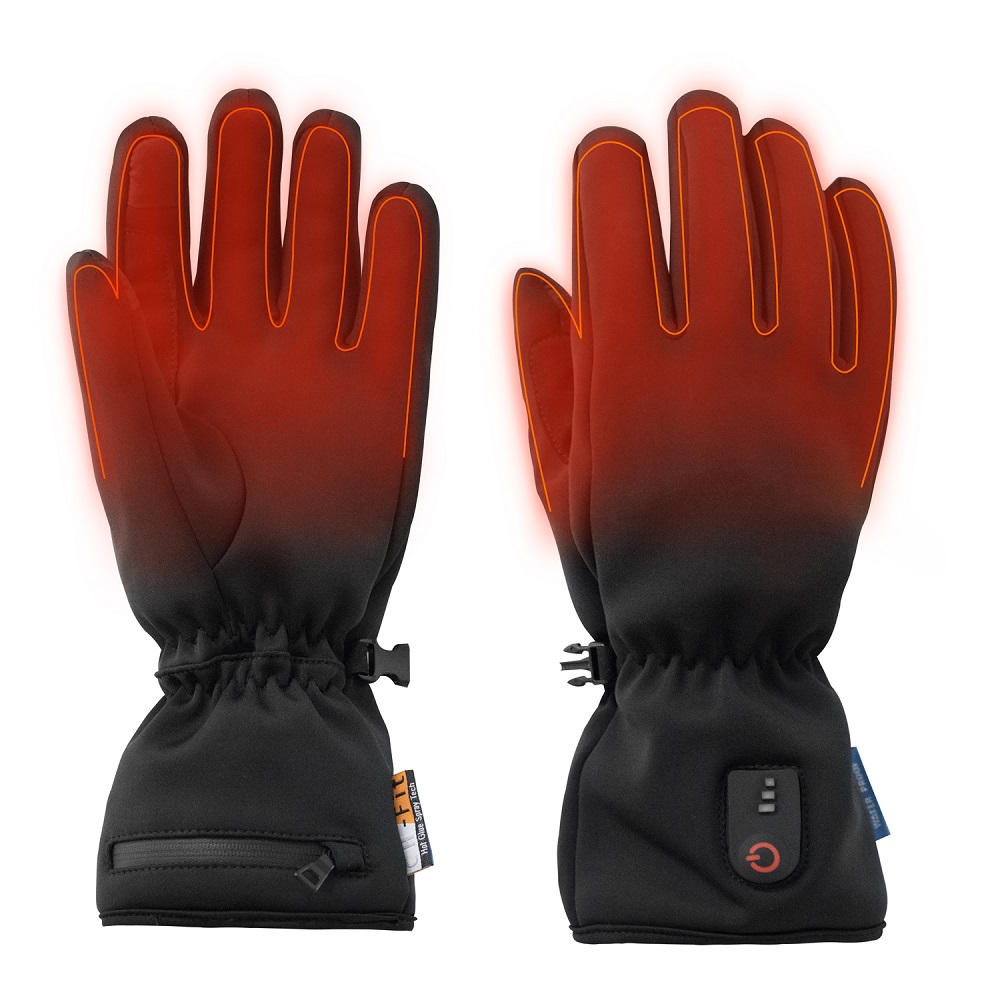 high quality battery operated gloves warm with prined pattern for winter-1