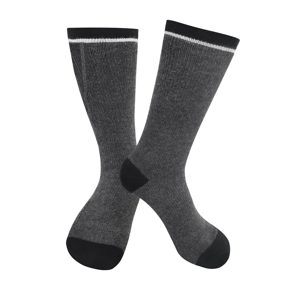 Dr. Warm cotton rechargeable heated socks keep you warm all day for outdoor-2
