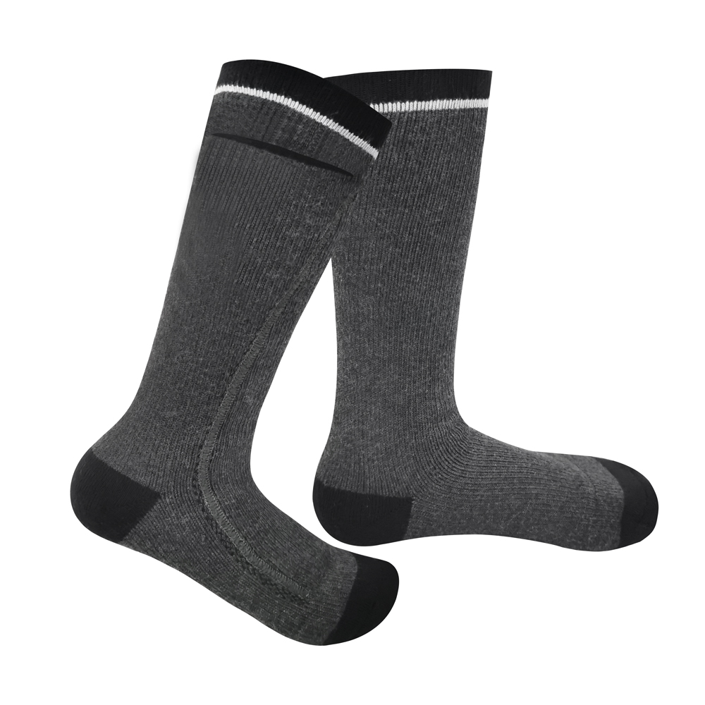 Dr. Warm cotton rechargeable heated socks keep you warm all day for outdoor-9