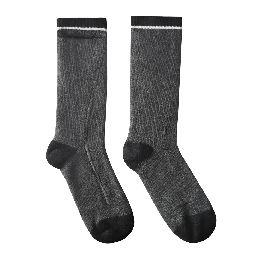 Dr. Warm cotton rechargeable heated socks keep you warm all day for outdoor