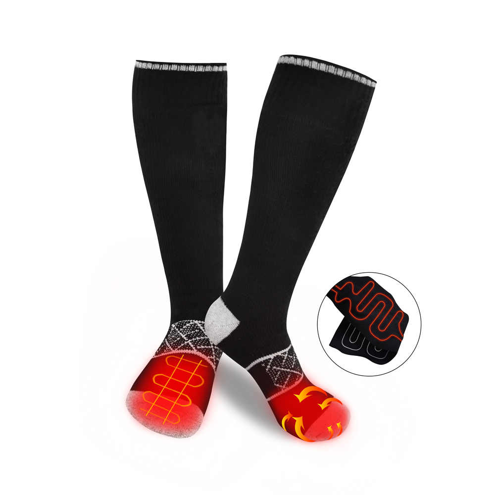 Dr. Warm heated battery heated socks with smart design for indoor use-1