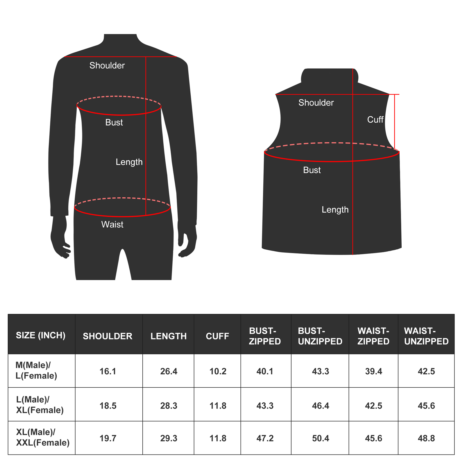 online battery warm jacket waterproof with arch support design for ice house-2