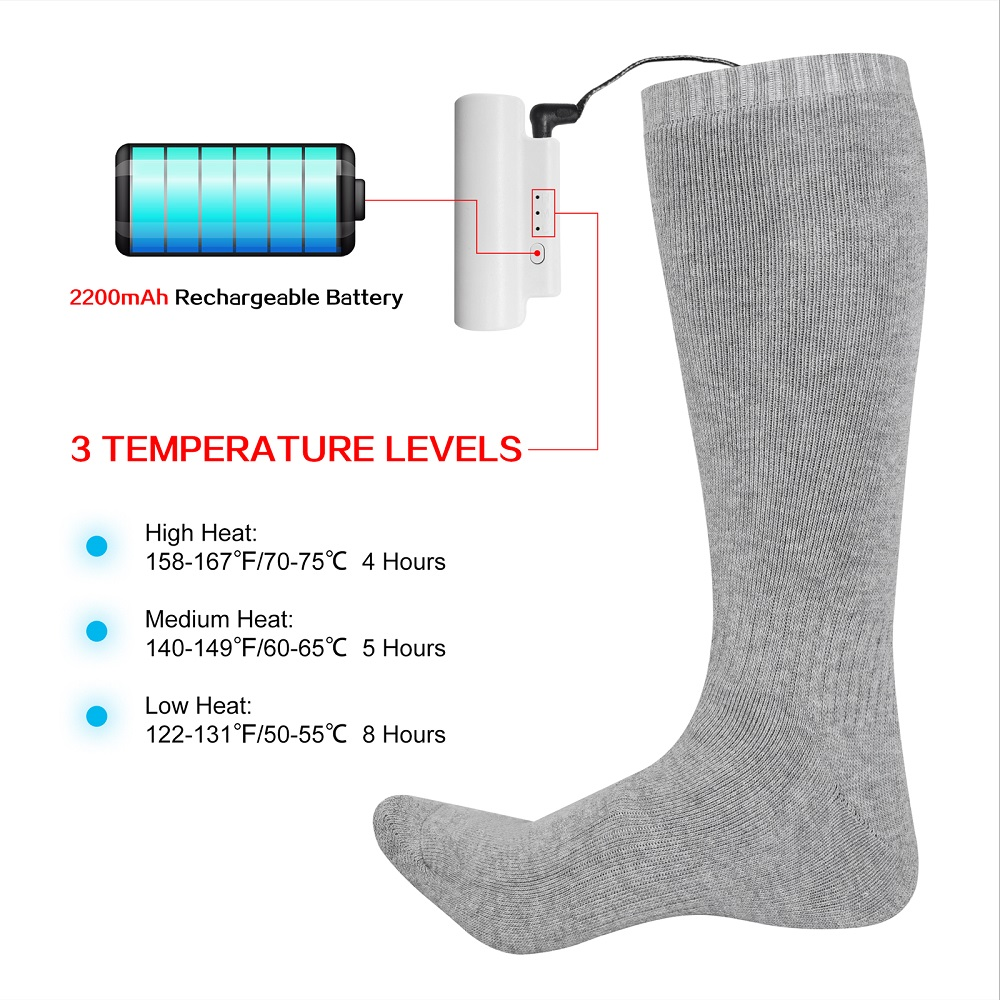 Dr. Warm winter best heated socks keep you warm all day for indoor use-3