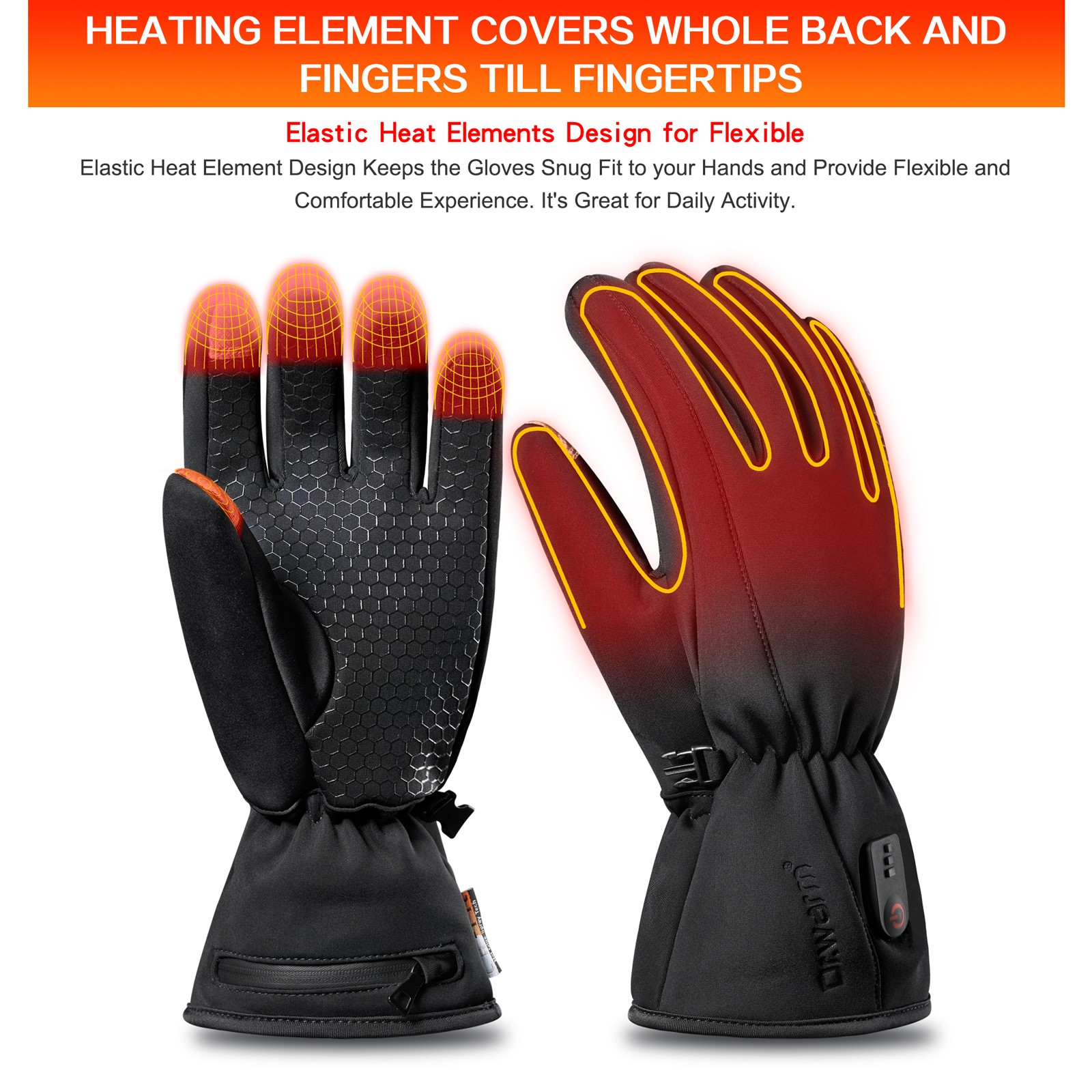 Dr. Warm winter electrical hand gloves for home-10