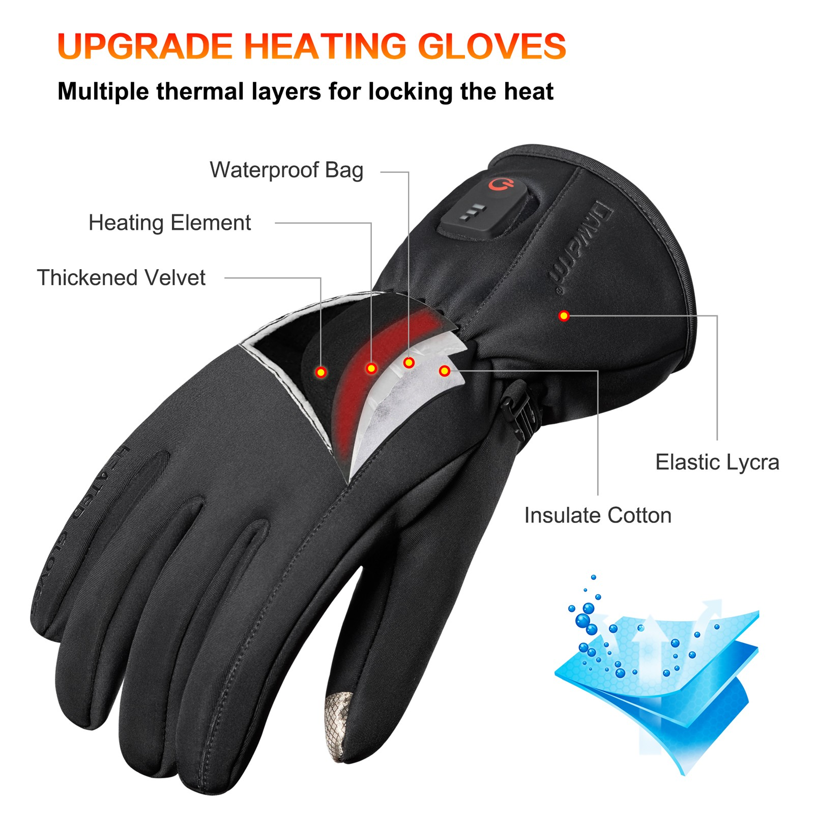Dr. Warm winter electrical hand gloves for home-12