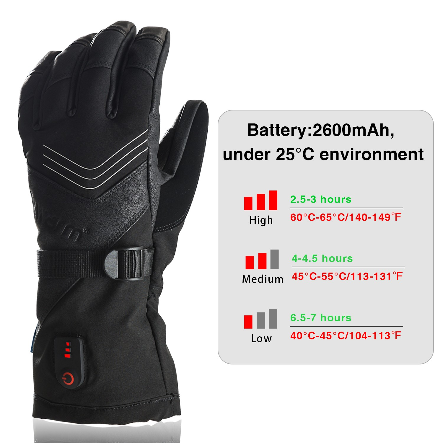 Dr. Warm suitable battery gloves for indoor use-10