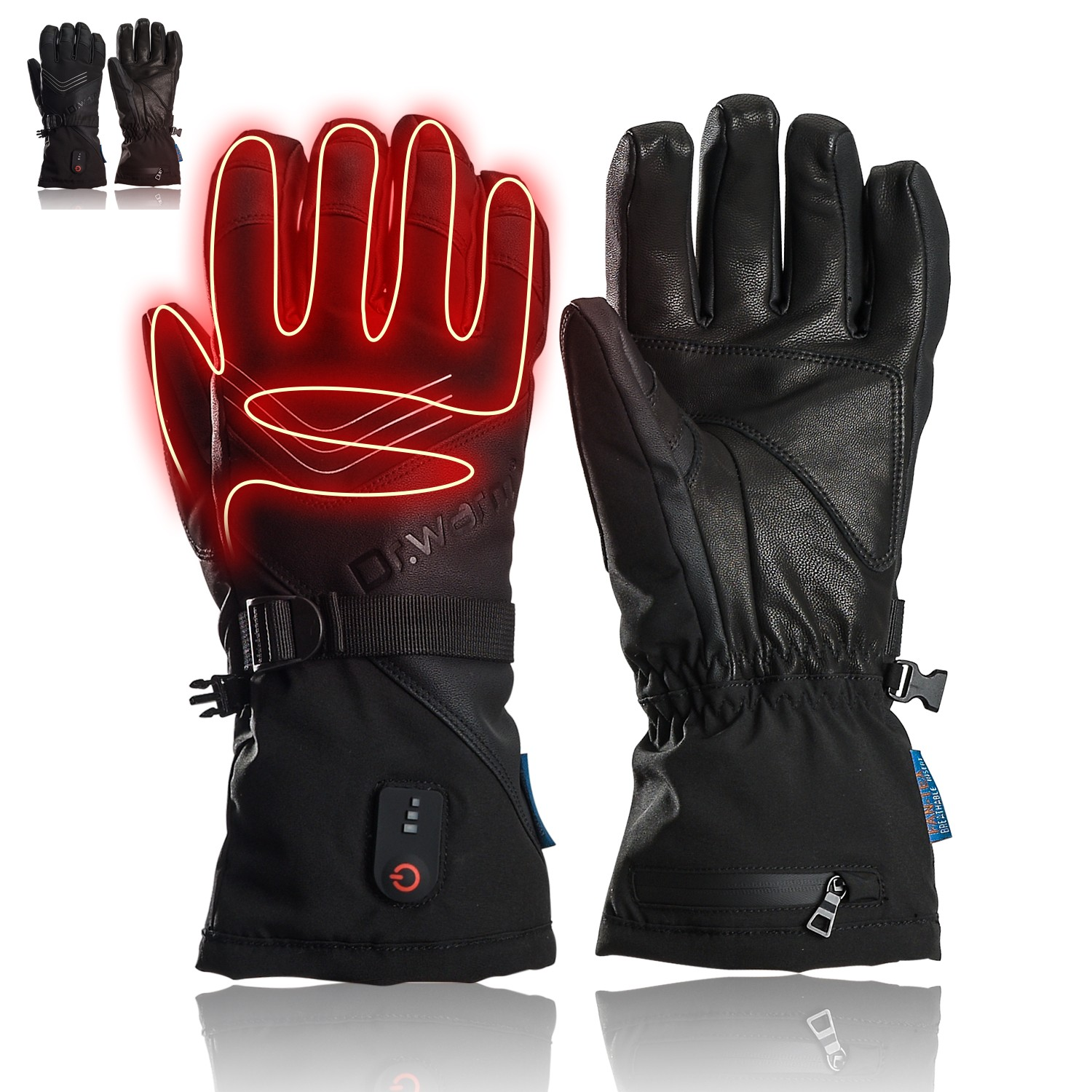 Dr. Warm suitable battery gloves for indoor use-11