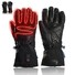 high quality electrical hand gloves warm with prined pattern for home
