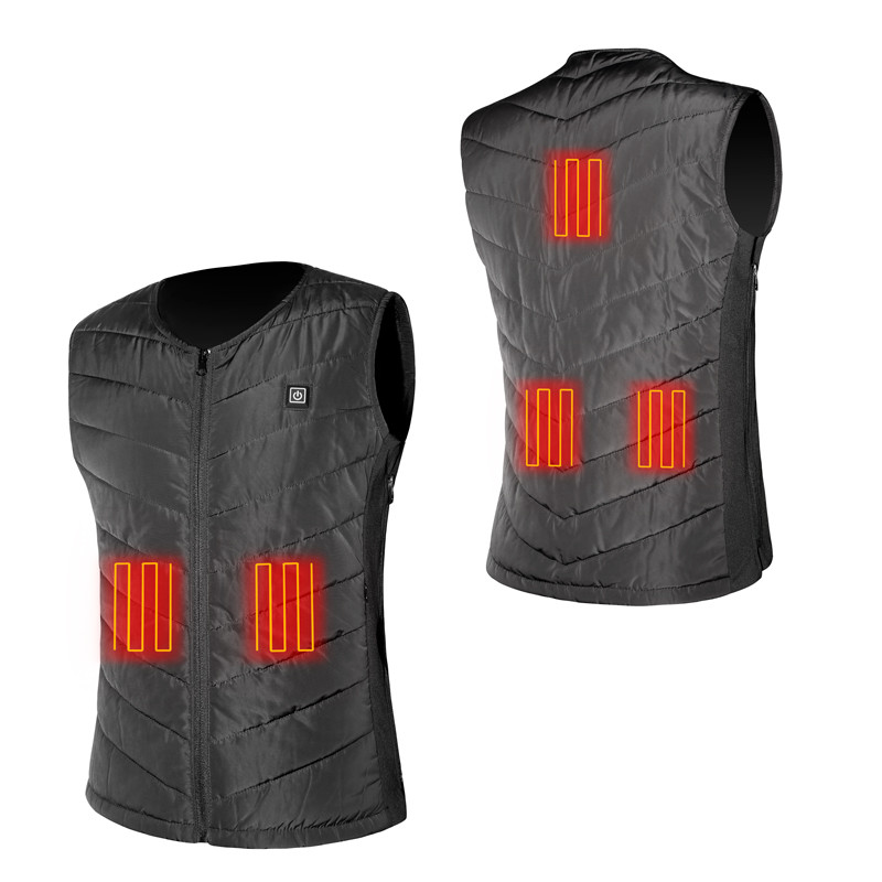 Wholesale Heated Vest keep warm coat waterproof outdoor Softshell Windproof Battery Powered