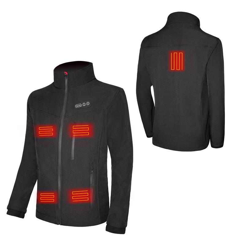 Comprehensice heated jacket 7.4V Battery Winter custom ski hunting heated coats and warm clothing