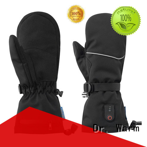 Dr. Warm touch electric hand warmer gloves improves blood circulation for winter