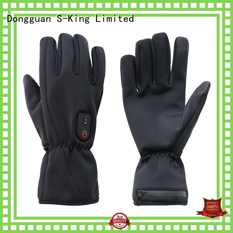 suitable battery powered gloves skiing for ice house