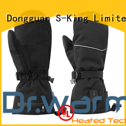 Dr. Warm online rechargeable heated gloves improves blood circulation for winter