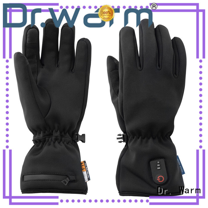 Dr. Warm outdoor rechargeable battery heated gloves for winter