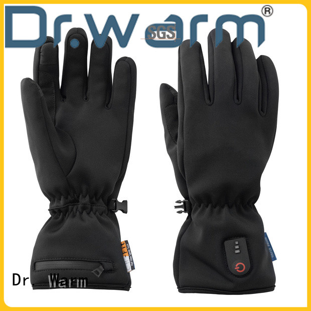 Dr. Warm sensitive rechargeable heated gloves for ice house