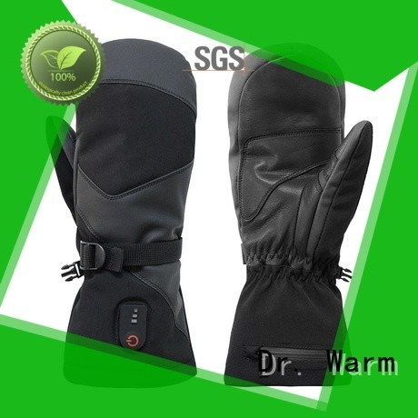 Dr. Warm warm battery operated heated gloves for ice house