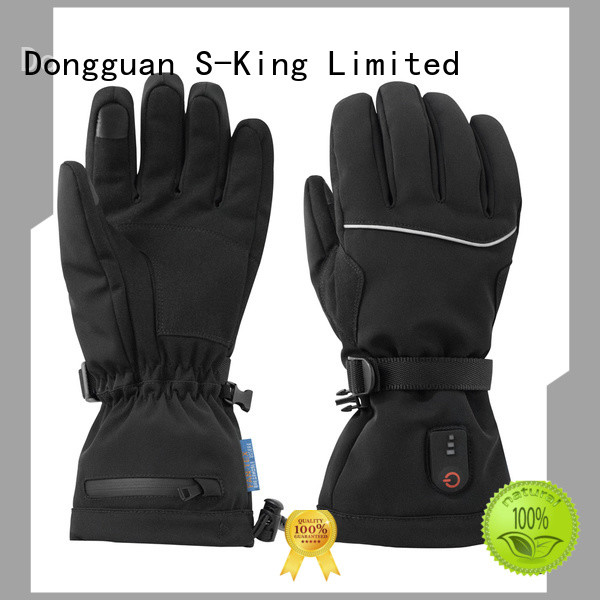 Dr. Warm sensitive best heated gloves improves blood circulation for ice house