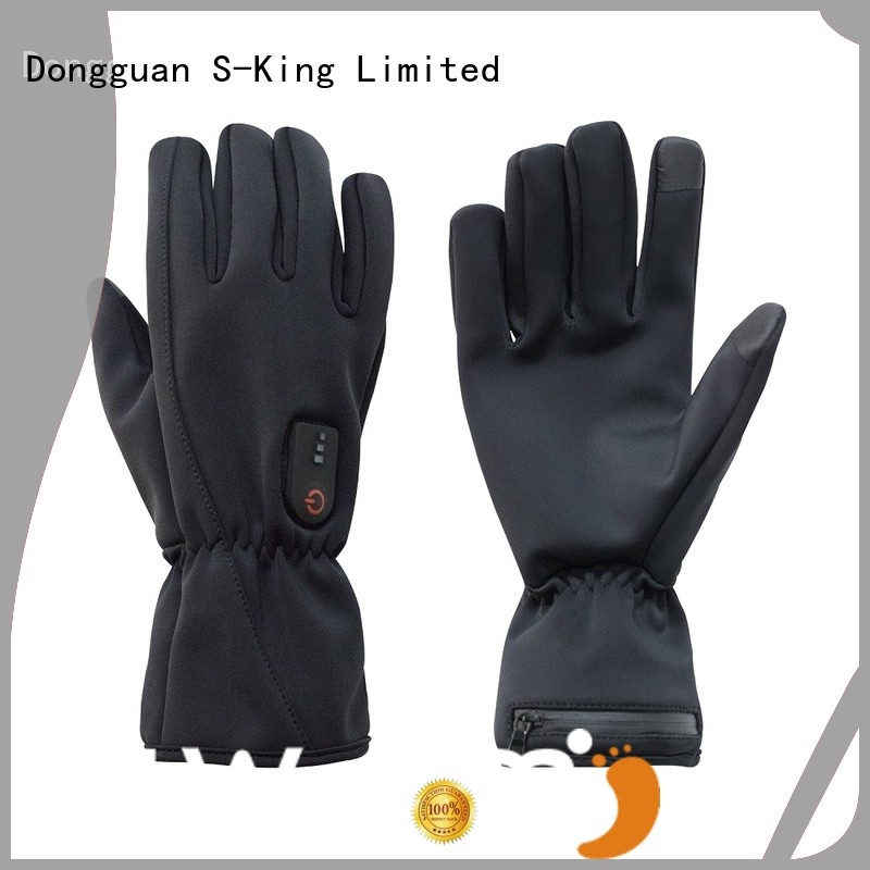 Dr. Warm feel battery gloves for ice house