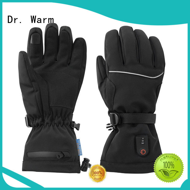 Dr. Warm women electronic gloves with prined pattern for home