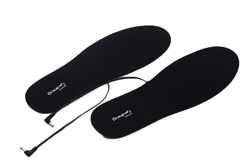 wire battery powered heated insoles fishing suit your foot shape for outdoor-9