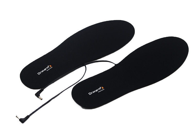 wire battery powered heated insoles fishing suit your foot shape for outdoor