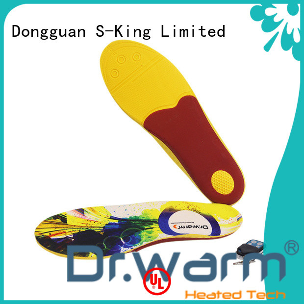 Dr. Warm wire the best heated insoles lasts for 3-7hours for outdoor