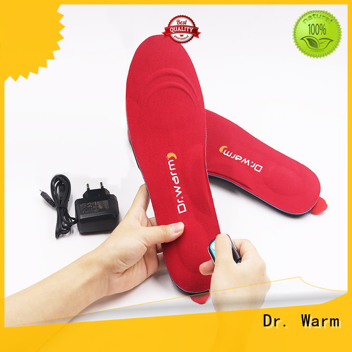 hunting rechargeable Dr. Warm Brand heat moldable insoles factory