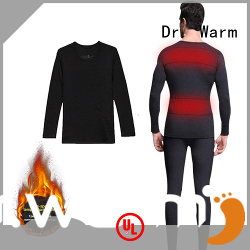Dr. Warm heating mens heated underwear on sale for home