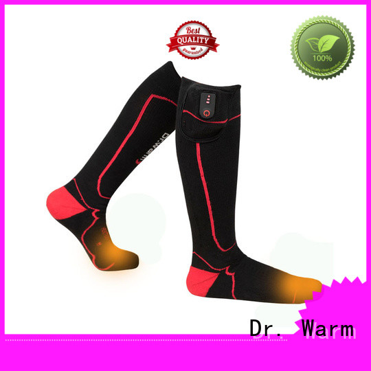 heated battery socks winter improves blood circulation for ice house